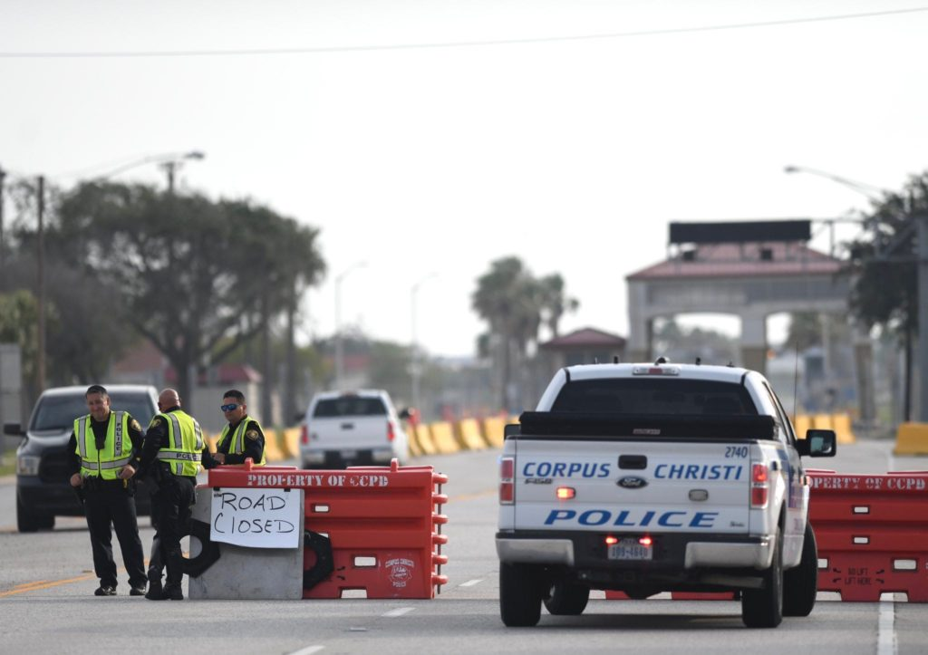 An Active Shooter Killed by the Security Officers near an Air Station in Corpus Christi